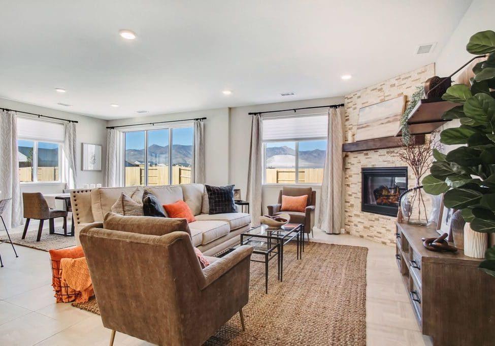 Plan 4 - Living Room
